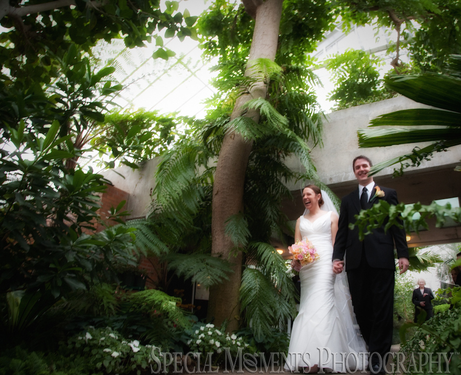 Matthaei Botanical Gardens Ann Arbor wedding photograph