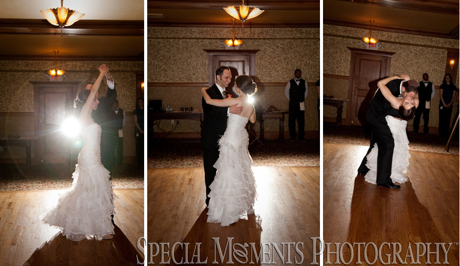 The Gem Theatre Detroit MI wedding reception photograph