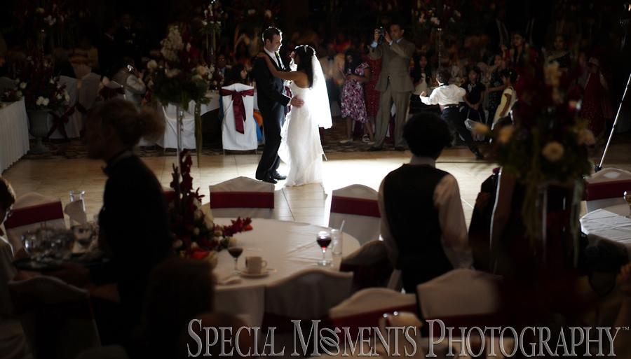 Fore Lakes Golf Club Kimball Port Huron MI Hindu wedding reception photograph