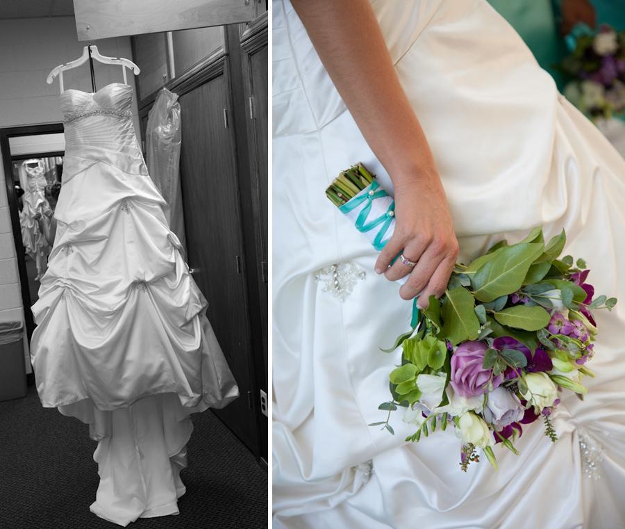 Calvary Baptist Church Canton MI wedding photograph