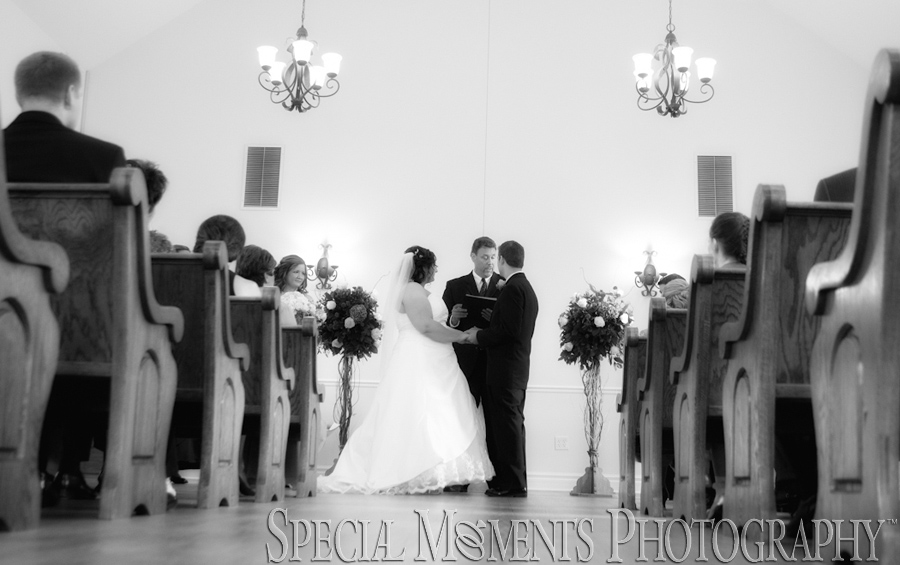 Historic Hope Chapel Shelby Twp. MI wedding photograph