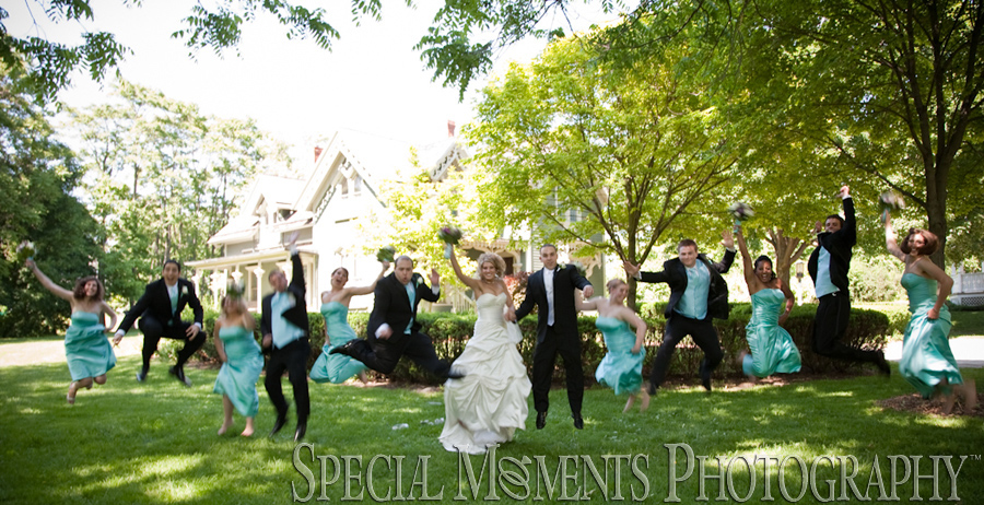 Mill Race Park Northville MI wedding photograph