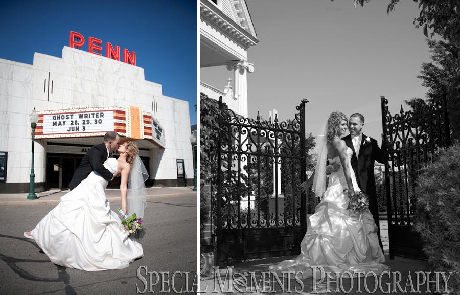 Kellogg Park Plymouth MI wedding photograph