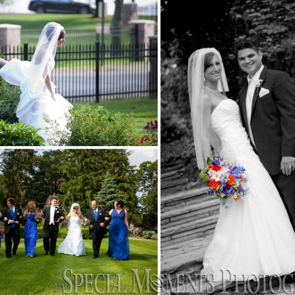 Lauren & Октавијан: Wedding photographs from St. Mary's of Orchard Lake & The Italian American Club Livonia MI