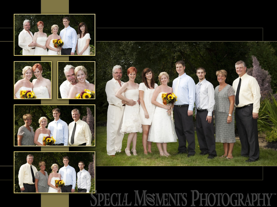 home wedding photos farmington hills mi spacial moments