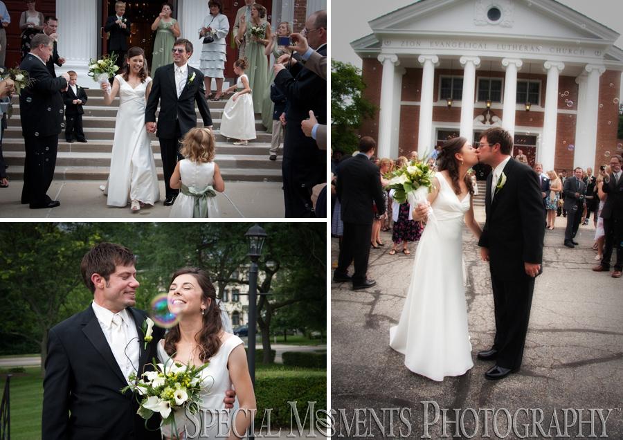 Zion Lutheran Ann Arbor MI wedding
