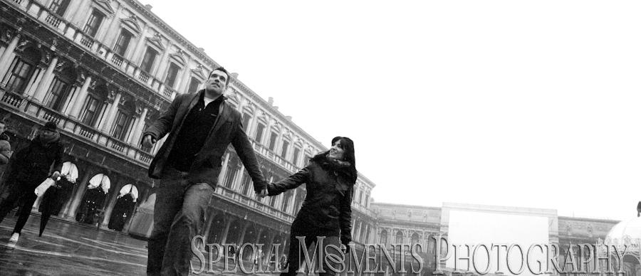Shot in St. Mark's Square, Venice Italy