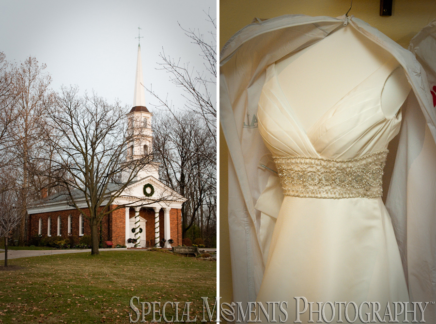 Martha/Mary Chapel Greenfield Village Dearborn MI wedding photograph