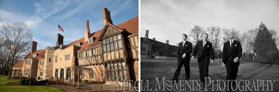 Meadow Brook Hall wedding photograph Rochester Hills MI