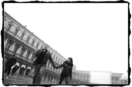 engagement session photography in Venice Italy