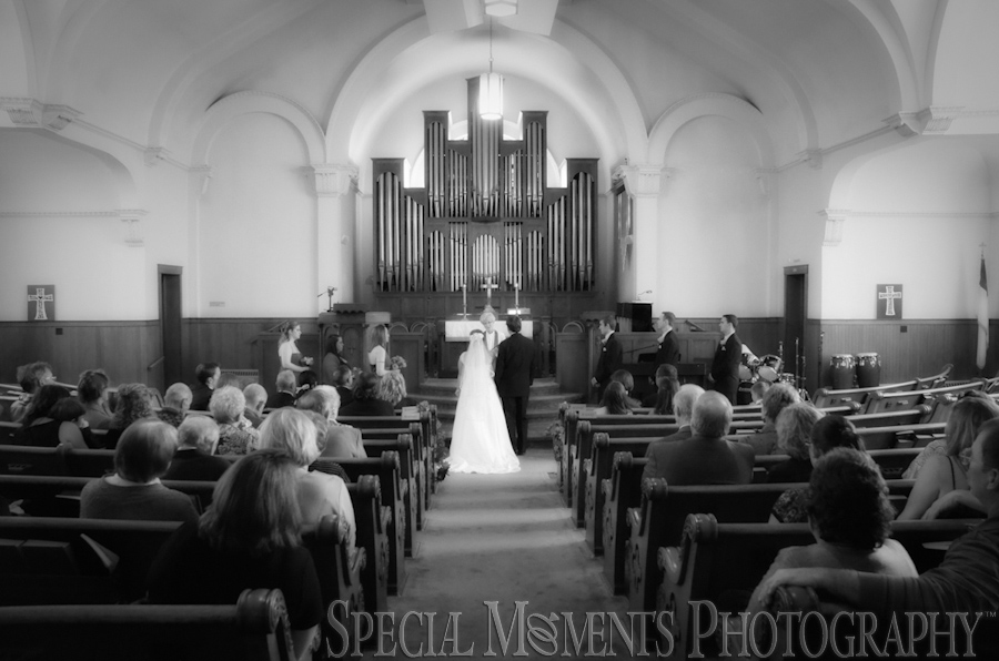 First United Methodist Chelsea wedding photography