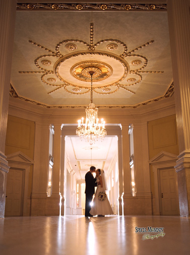 Wedding Photograph At Henry Ford Museum