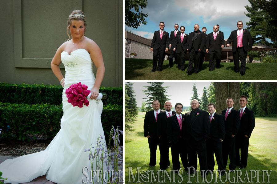 Pine Knob Carriage House wedding Clarkston MI