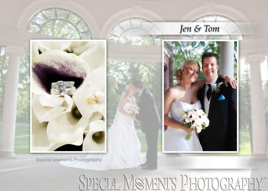 George George Memorial Park wedding photograph Clinton Twp. MI
