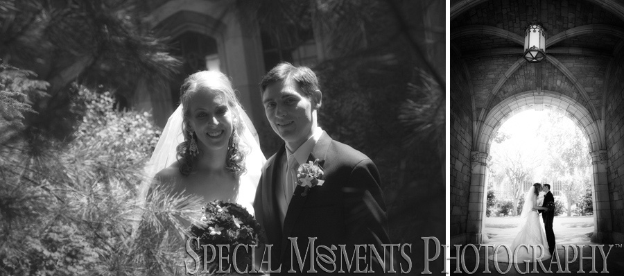 First Congregational Ann Arbor MI wedding photograph