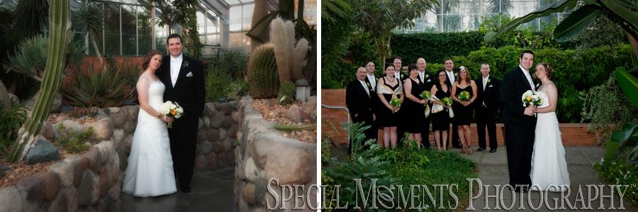 Matthaei Botanical Gardens reception Ann Arbor MI