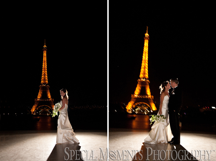 Esplanade du Trocadero Paris France wedding