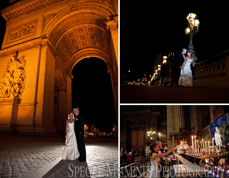 Arc de Triomphe Paris France wedding