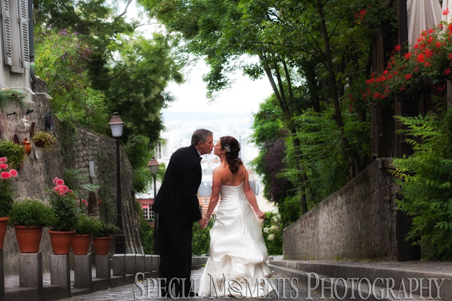 Montmartre Sacre Coeur Paris France wedding