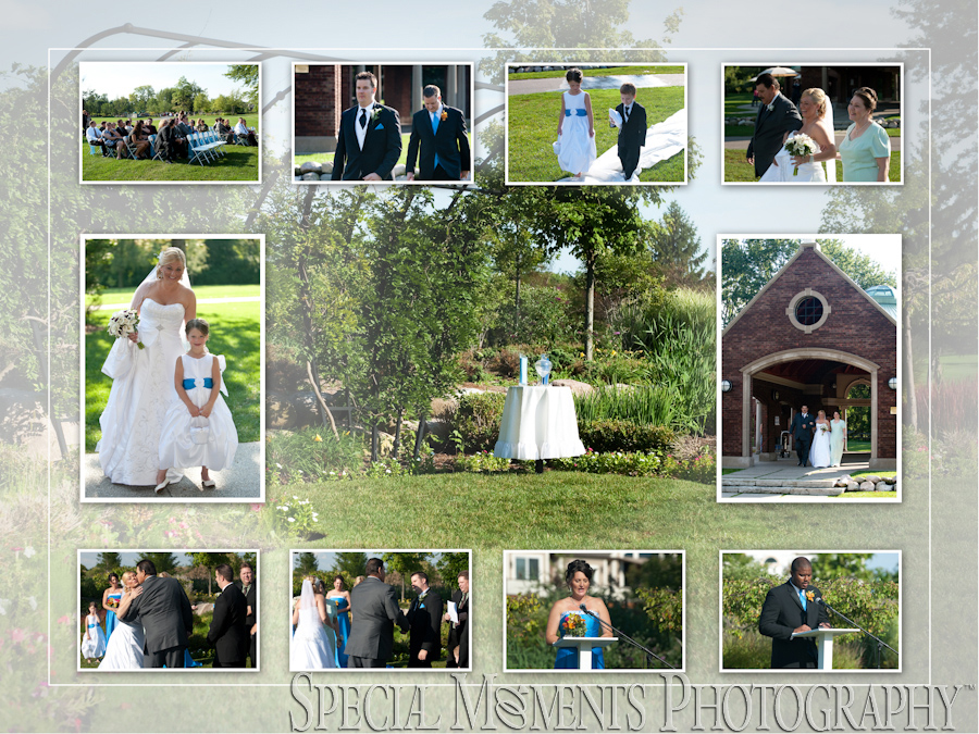 George Memorial Park Wedding Photograph Clinton Twp Mi