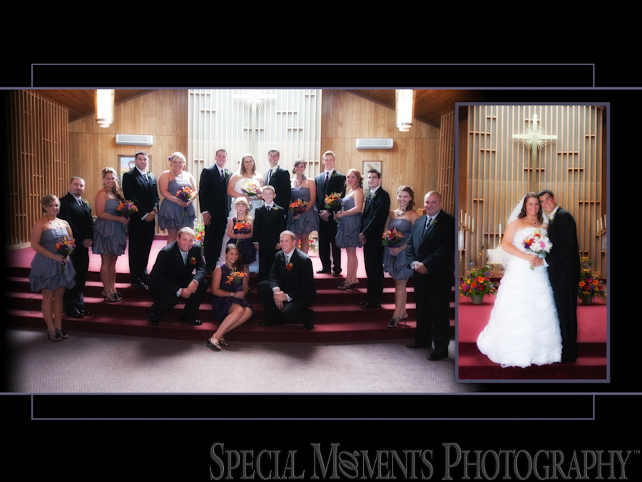 First United Methodist wedding photograph Belleville MI