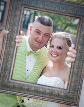 Burton Manor Livonia wedding photo