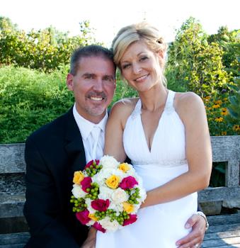 Matthaei Botanical Gardens Ann Arbor wedding photography