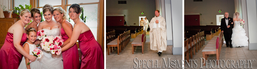 St. Cyprian Riverview MI wedding