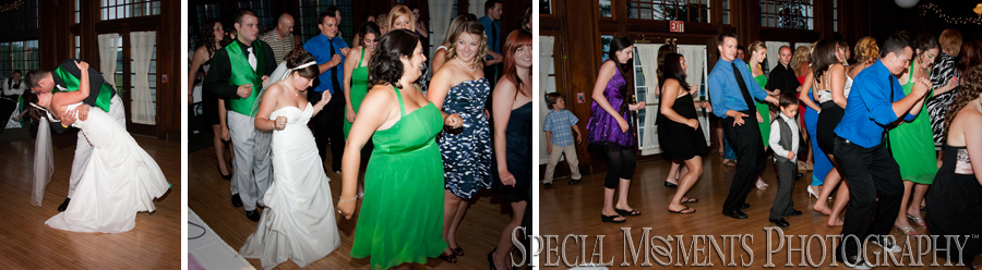 Waldenwoods Hartland MI wedding reception
