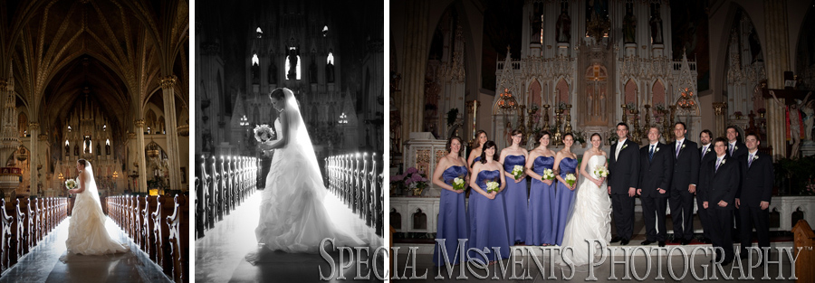 Sweetest Heart of Mary wedding photograph Detroit MI