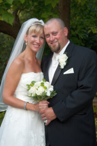 St. Mary Cultural Center Livonia wedding photograph