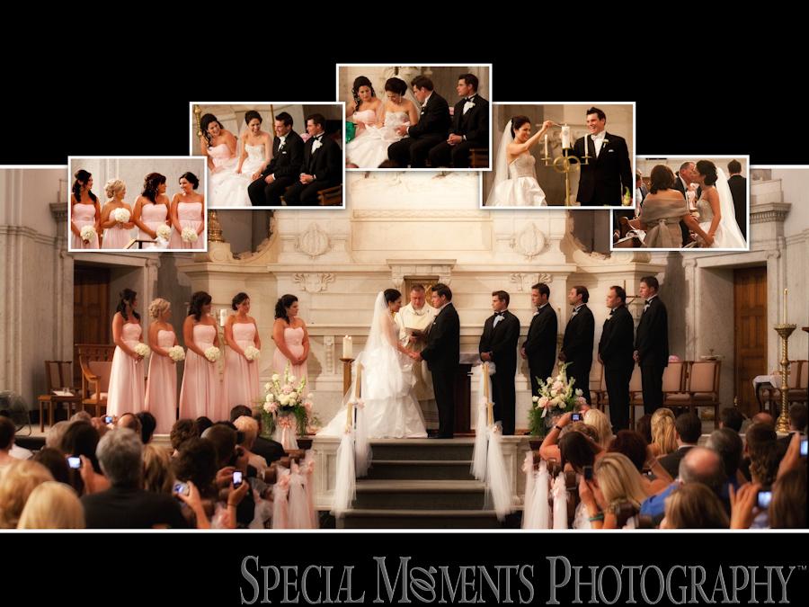 St Peter & Paul Detroit Wedding photograph Detroit MI