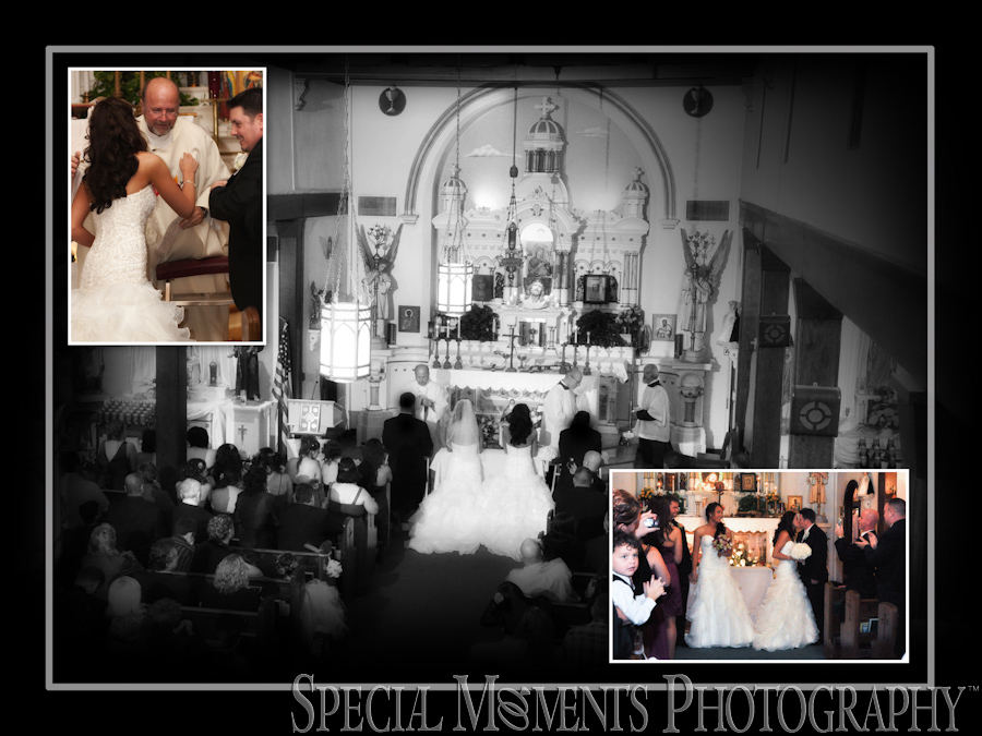 St. Stephen Catholic New Boston MI wedding