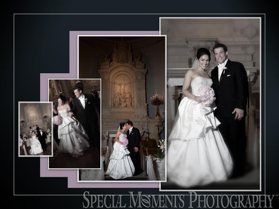 St. Peter & Paul Jesuit wedding photograph Detroit MI