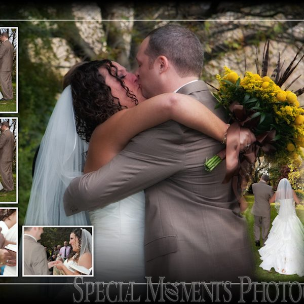 Dave & Monica's wedding album design Westcroft Gardens Grosse Ile MI Wedding & Silver Shores Waterfront Wedding Reception Wyandotte MI