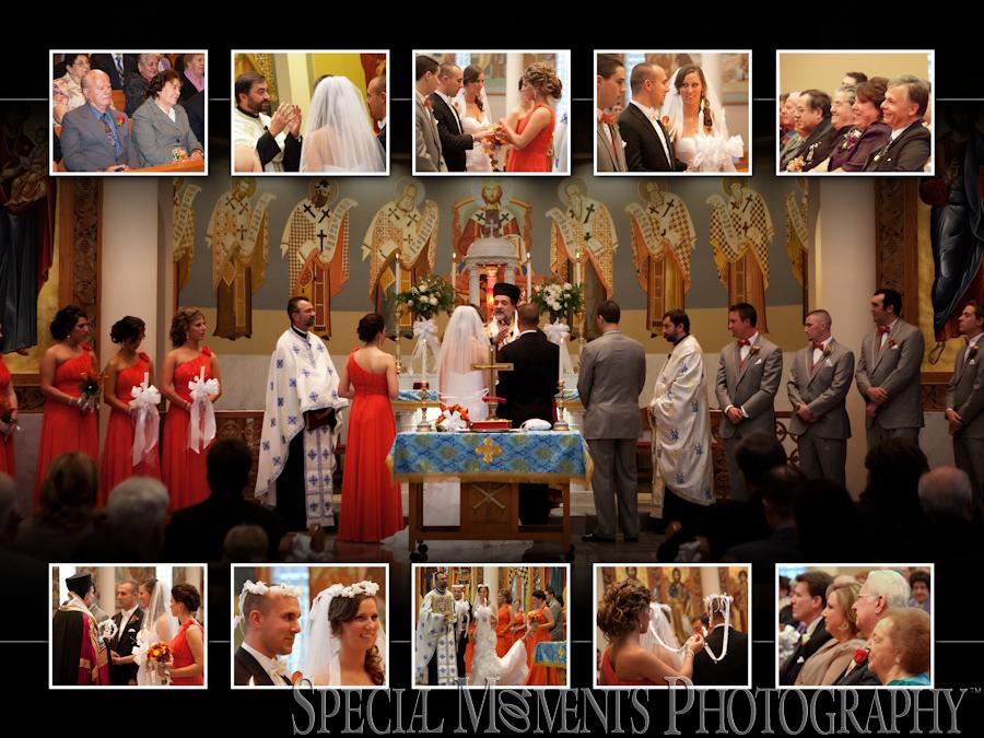 St. Nicholas Greek Orthodox Troy MI wedding & reception