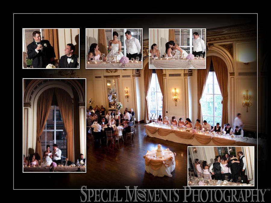 The Colony Club wedding photograph Detroit MI