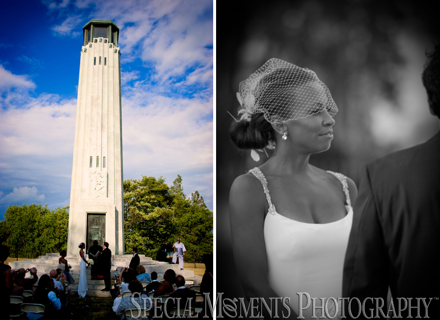 Livingstone Lighthouse Belle Isle Detroit wedding