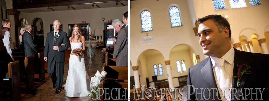 Saint Patrick Catholic Church Detroit MI wedding photograph