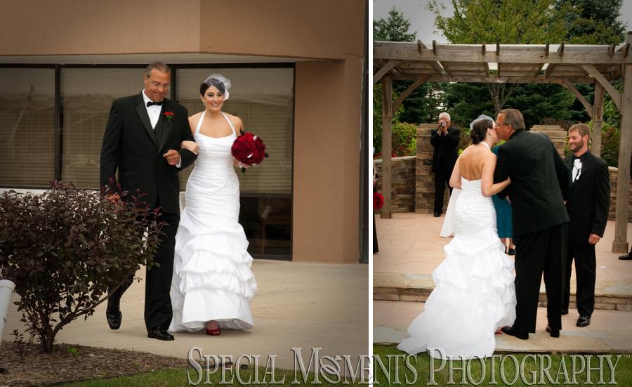 Ypsilanti Marriott Ypsilanti MI wedding