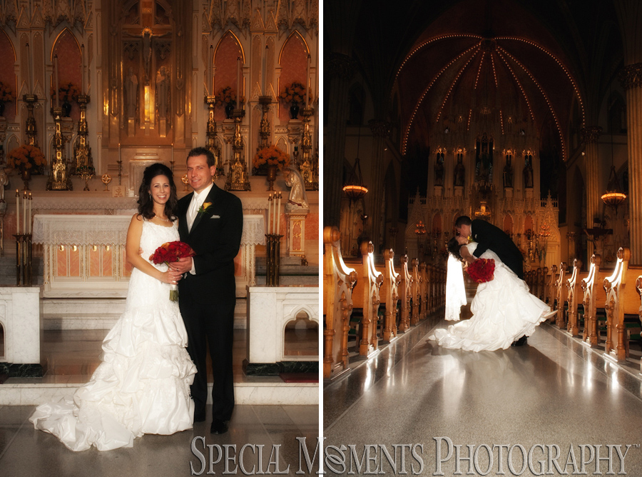 Sweetest Heart of Mary Detroit MI wedding