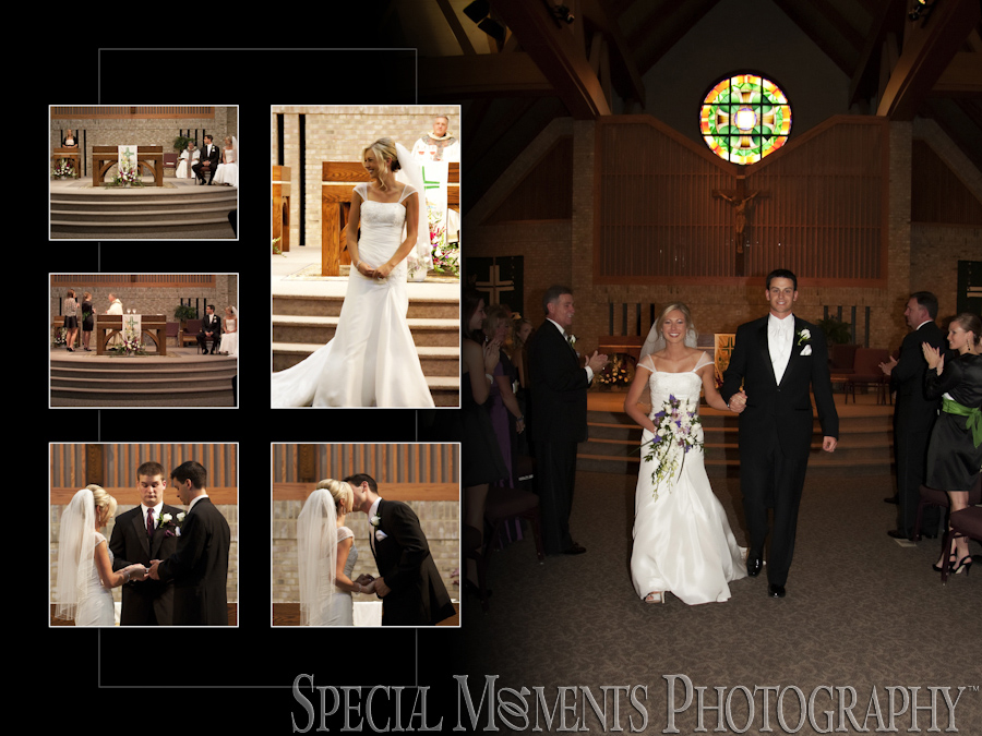 St. Thomas A-Becket Canton MI wedding photography