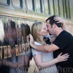Clara Bachmayer Park engagement photograph