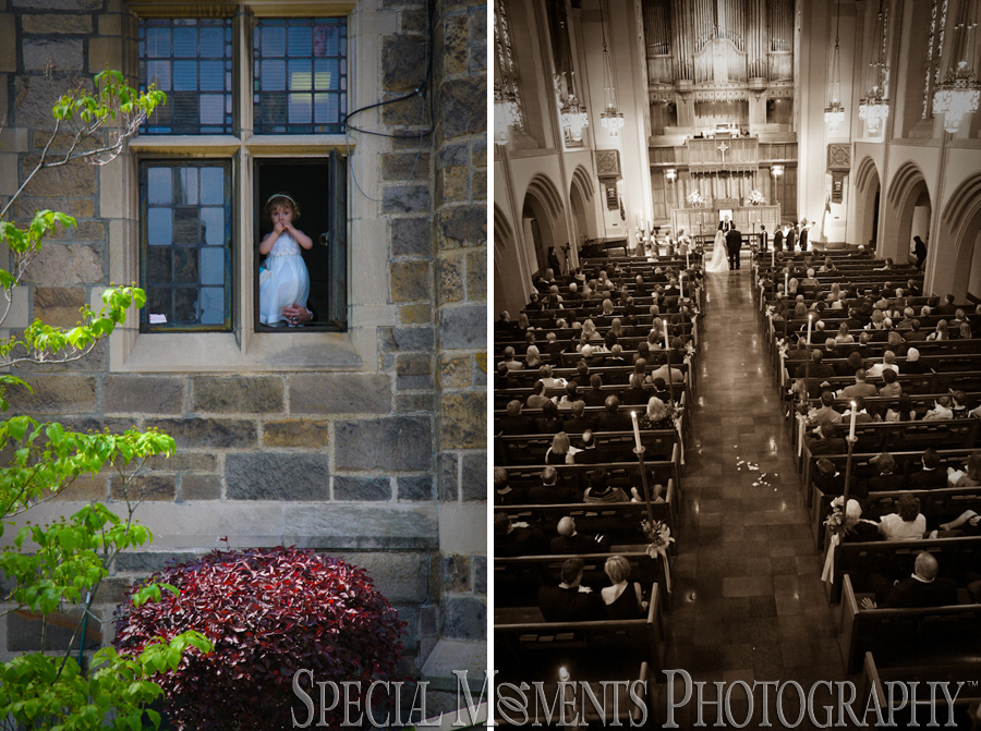 Jefferson Avenue Presbyterian Detroit MI wedding photograph
