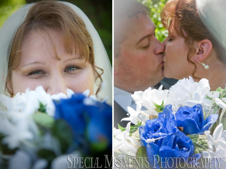 Elizabeth Park wedding photograph Trenton MI
