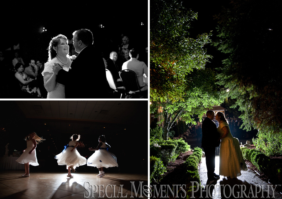 Crystal Gardens wedding photograph Southgate MI
