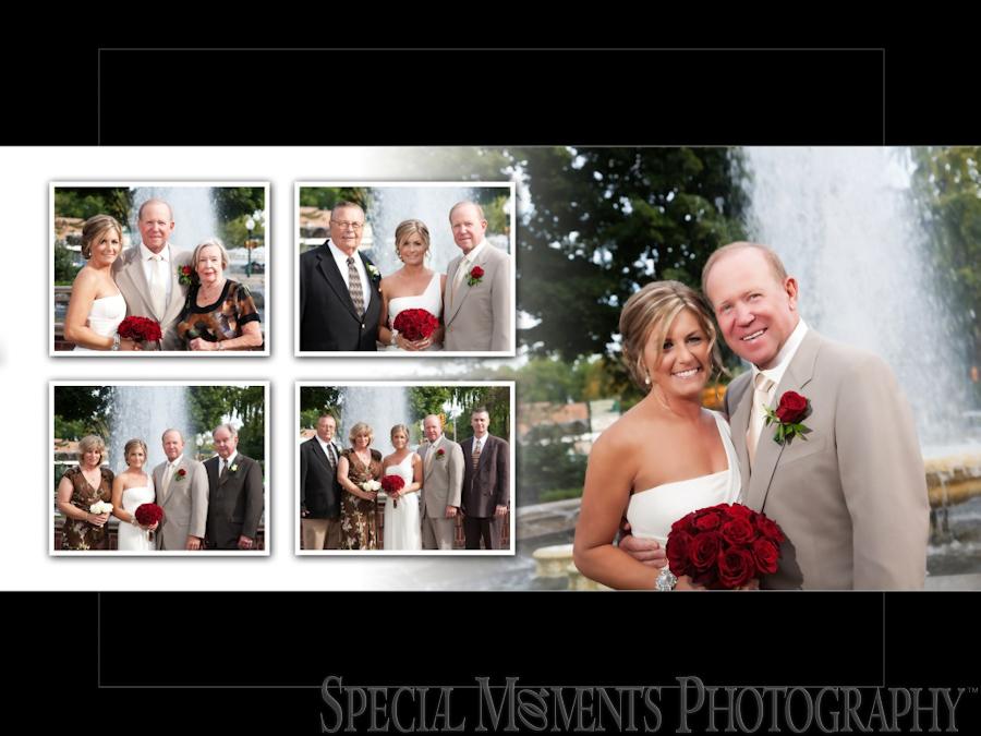 Kellogg Park wedding photograph Plymouth MI