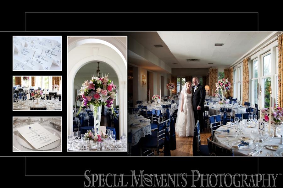 Grosse Pointe Club (aka The Little Club) Grosse Pointe Farms MI wedding photograph