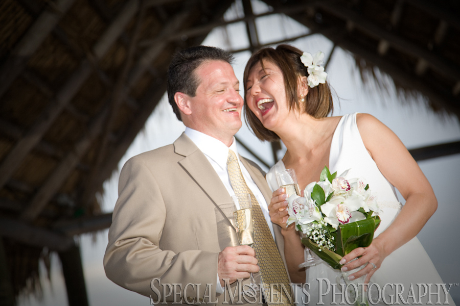 Marriott Key Largo Bay Resort FL wedding reception photograph