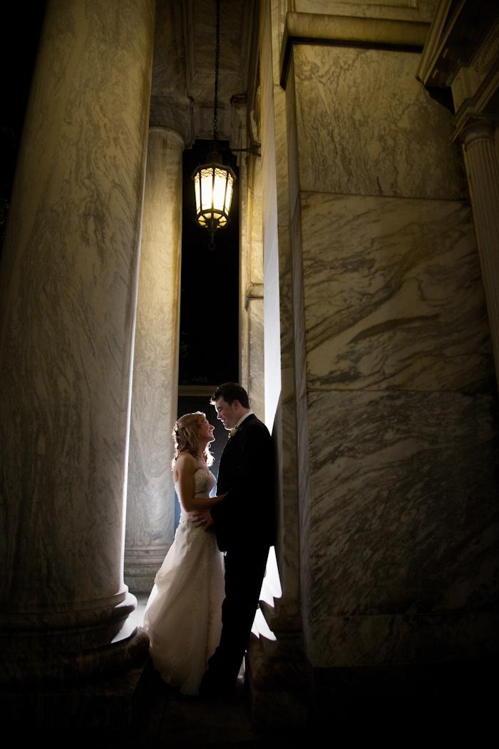 Jefferson Avenue Presbyterian Detroit wedding photograph